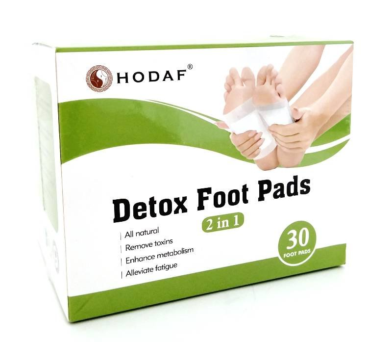 Пластыри Detox foot patches Premium (уп./30 шт.), HODAF